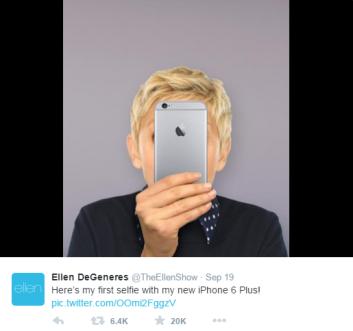 Source: Ellen DeGeneres Twitter